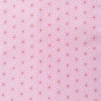 麻の葉柄(ピンク)
