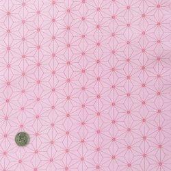 画像2: 麻の葉柄(ピンク)